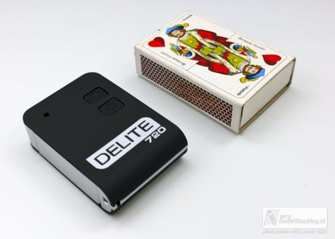 Actioncam DELITE 720HD - Kleiner als eine Streichholzschachtel!