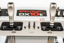 Spektrum DX10t - Detailansicht