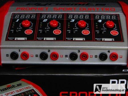 4 Lade- und Balancer Ausgänge - Dynamite Prophet Sport Quattro