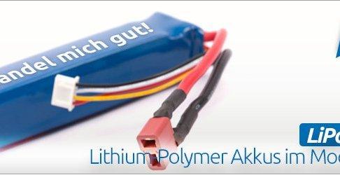 LiPo Guide: Lithium-Polymer Akkus im RC-Car