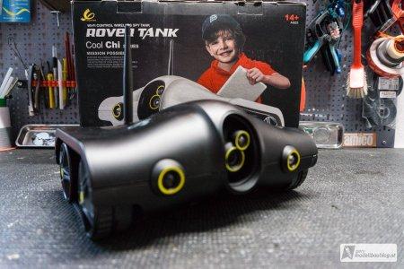 Optisch macht der Rover schon was her