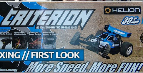 Helion Criterion 2WD Buggy Unboxing and First Look