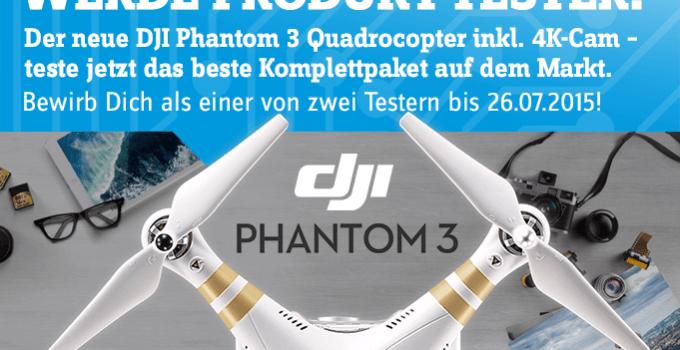DJI PHANTOM 3 Professional – Produkttester gesucht!