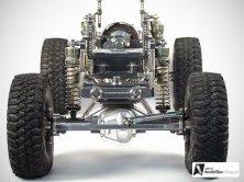 Die T-10 Achsen sind wahre Schmuckstücke und komplett aus Aluminium.