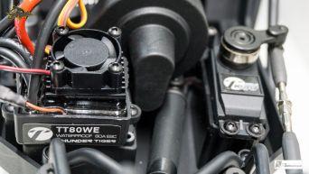 Brushless-tauglicher Antriebsstrang inkl. SLIPPER Überlast-Kupplung & Traktions-Kontrolle