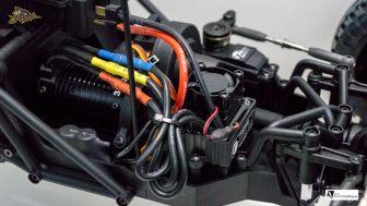 Wasserdichter & Lüfter gekühlter Brushless Fahrtenregler mit 80Amp
