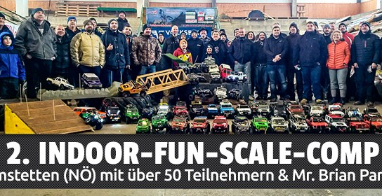 "2. Indoor-Fun-Scale-Comp in Amstetten presented by ""The Scalin' Basterds""!"