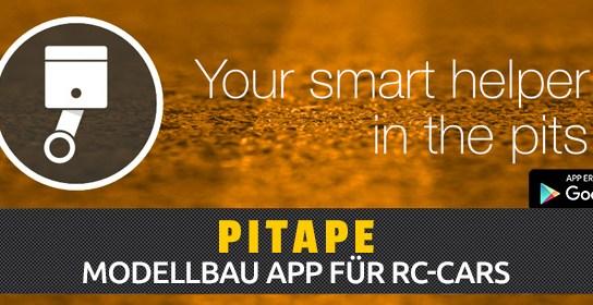 Pitape Modellbau App für RC-Cars