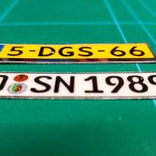 KFZ Kennzeichen aus Deutschland und Niederlande