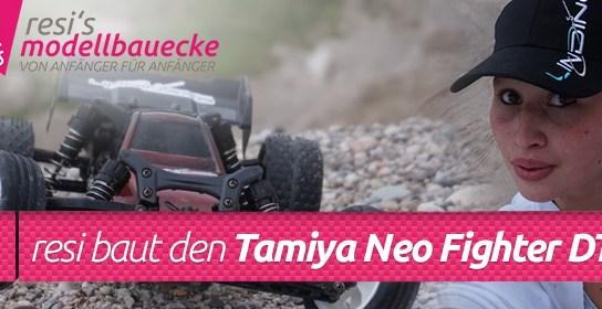 Tamiya Neo Fighter Buggy DT-03 - Lackierung & Testfahrt 1