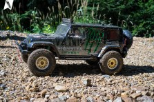 Pro-Line Jeep Wrangler Unlimited Rubicon Karosserie mit PL Interieur