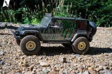 Pro-Line Jeep Wrangler Unlimited Rubicon Karosserie mit PL Interieur