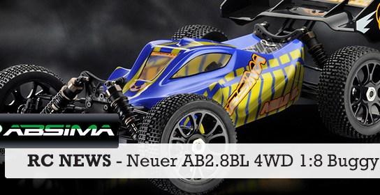 AB2.8BL 4WD Buggy von Absima