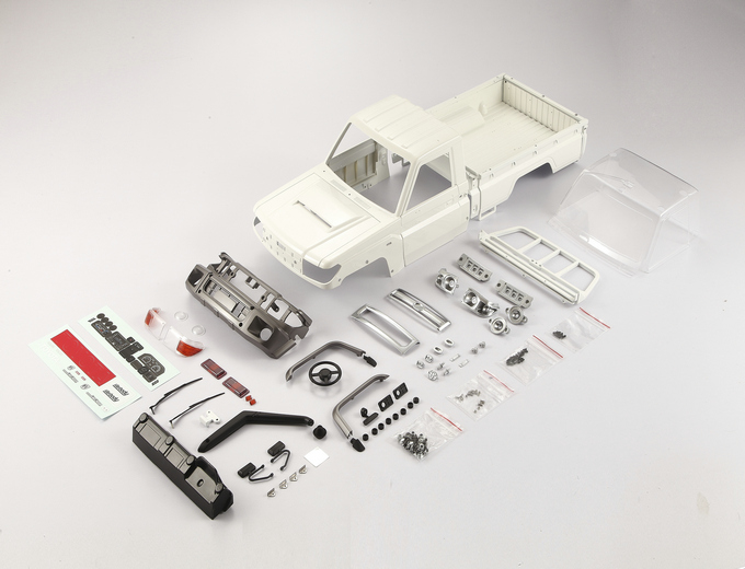 Killerbody - Toyota Land Cruiser 70 ABS Karosserie Kit #KB48601