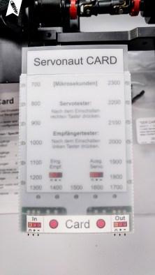 Servonaut Card - Programmierkarte