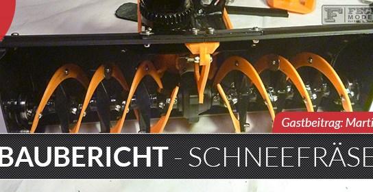 Baubericht: Spyker Workshop - 3D gedruckte Schneefräse / Snow Blower