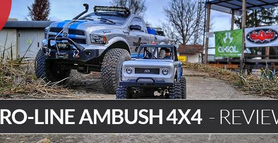 Pro-Line Ambush 4×4 - Mini Scale Crawler