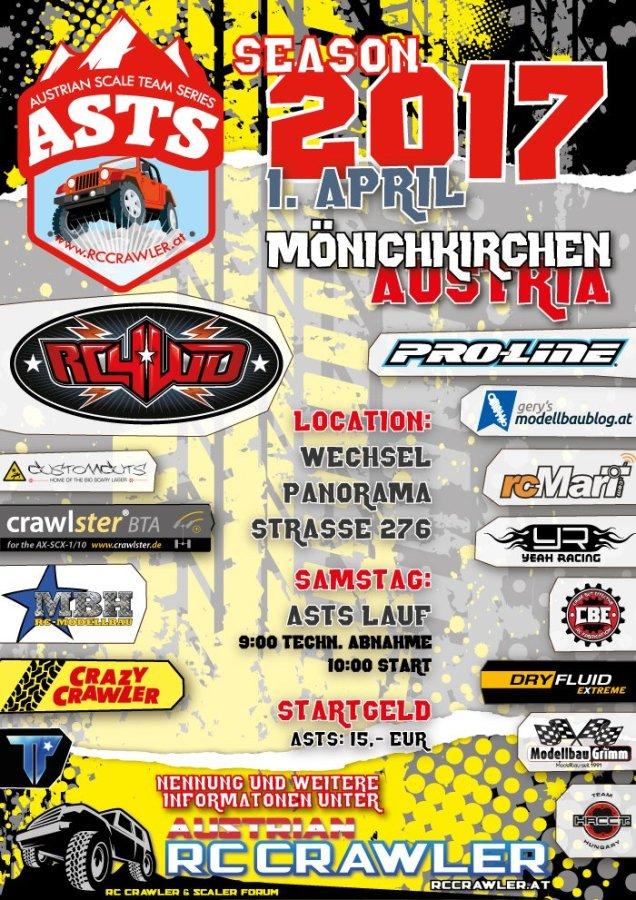 1. ASTS Lauf in Mönichkirchen powered by RC4WD 1