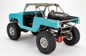 TFL Scale Chassis 1/10 mit GFK Karosserie und Stahlrahmen