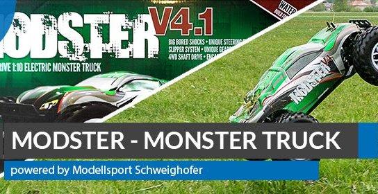 MODSTER-V4.1-Brushless-Monster-Truck