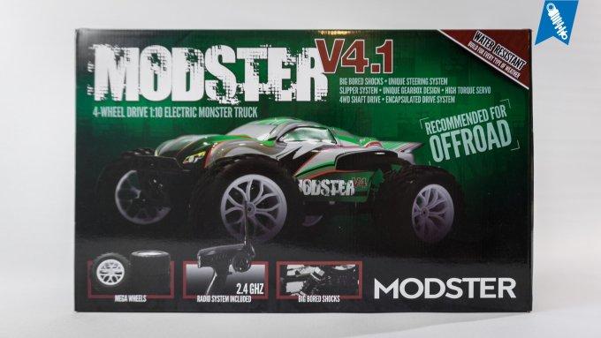 MODSTER V4.1 Brushless Monster Truck – Unboxing & Testfahrt