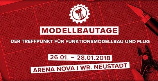 Titelbild: 26.01. - 28.01.2018 I ARENA NOVA I Wr. Neustadt - MODELLBAUTAGE