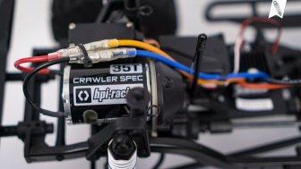 CRAWLER MOTOR MIT 35 WINDUNGEN