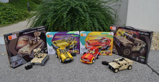Teknotoys Active Bricks RC Modelle – Erfahrungsbericht