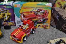 Teknotoys Active Bricks RC 2in1 Pickup Truck & Roadster