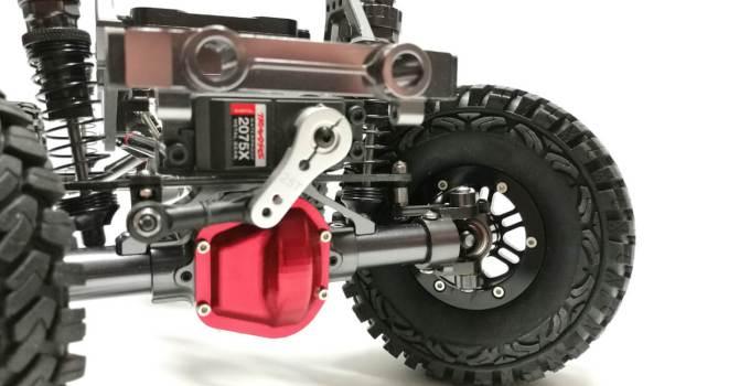 crawlster® BTA2-TFL LenkSystem – TFL Racing + Cool Racing 1