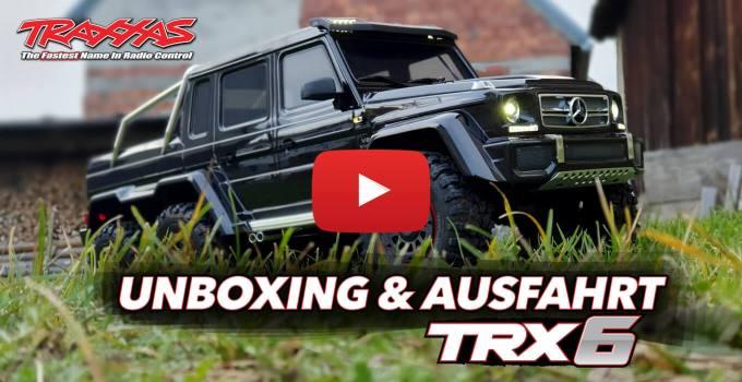 Traxxas TRX 6 Mercedes Benz G 63 AMG 6x6 - Unboxing & Ausfahrt