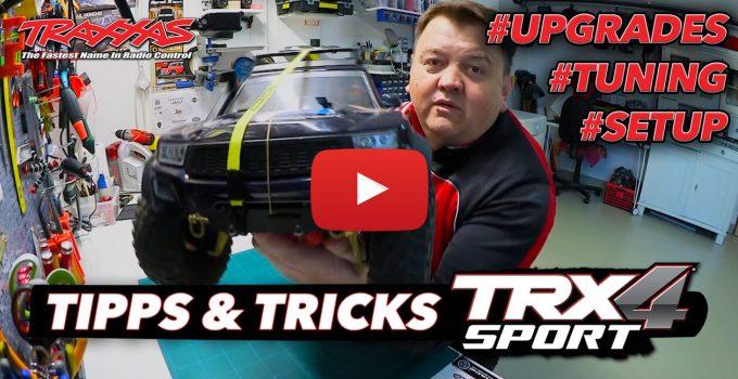 Beitragsbild: Traxxas TRX-4 Sport Upgrades, Tuning, Tipps und Tricks
