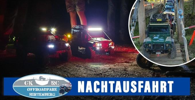 Nachtausfahrt im GK RC OFFROADPARK HIRTENBERG