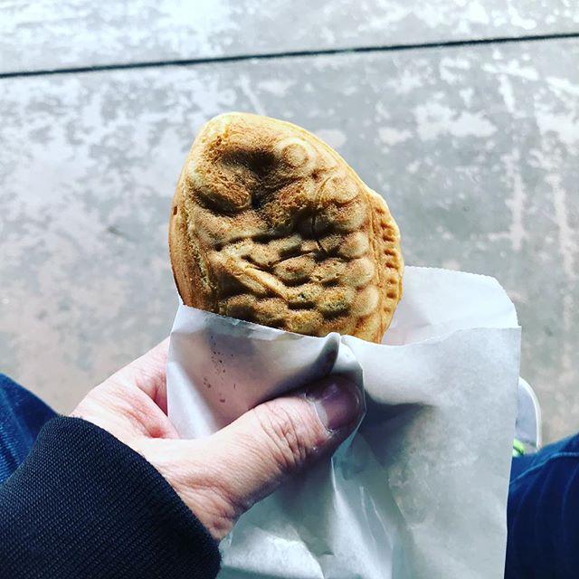 ダイエット中なのに#たい焼き #鯛やき - from Instagram