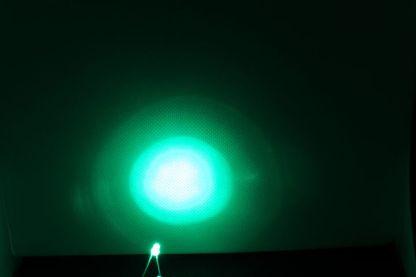 LED, grün, 3mm