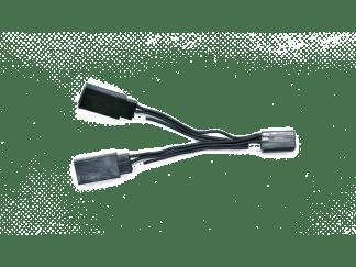 Y-Adapter 10cm Black Edition