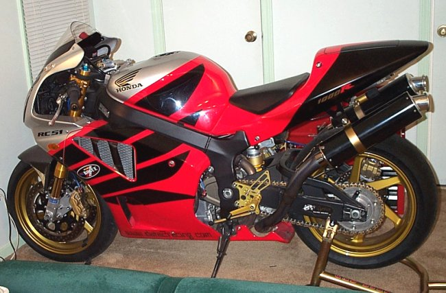 Anyone Tricked Out A VTR250???