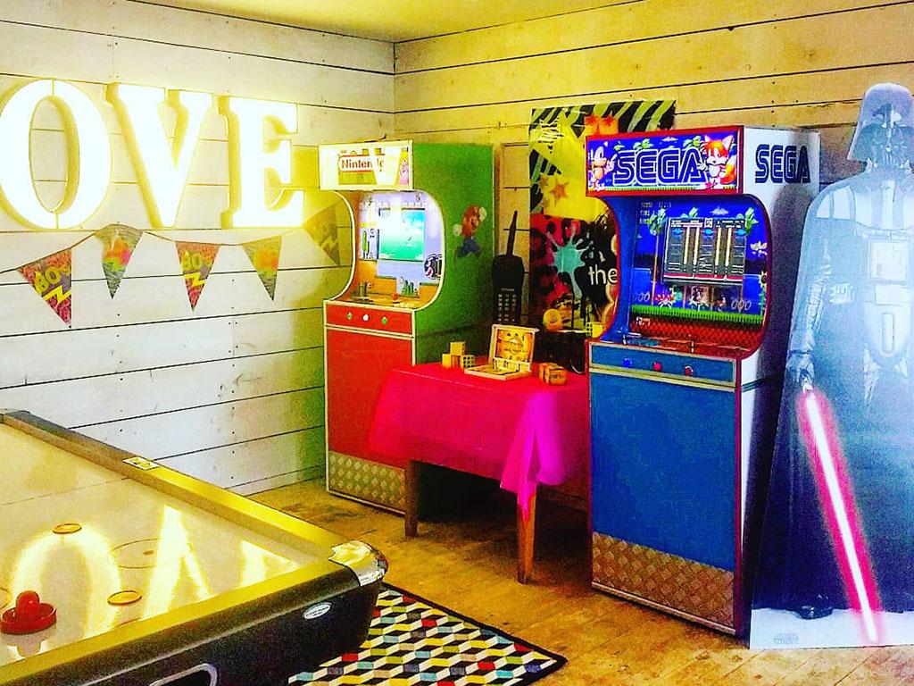 Arcade Games for Wedding