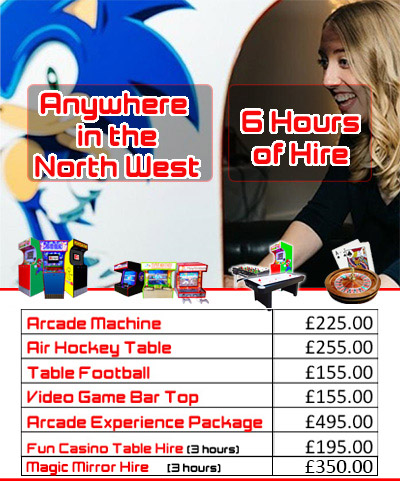 North West Hire pricing graphic
