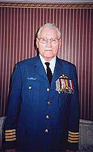 Stephen Butte in RCAF Uniform