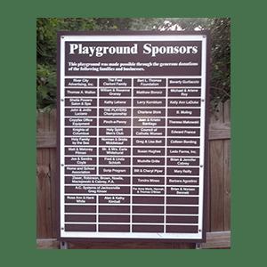 Sponsorship-Plaque