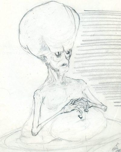Critters 2 Zanti Drawing