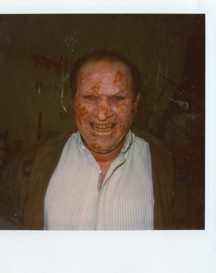 Dark Side of the Moon Allan in full rotting demon make-up