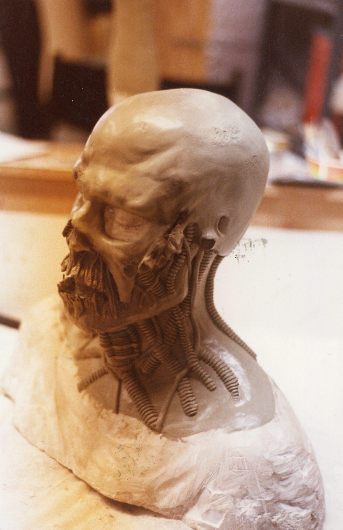 NoES5 Ironman head Sculpt
