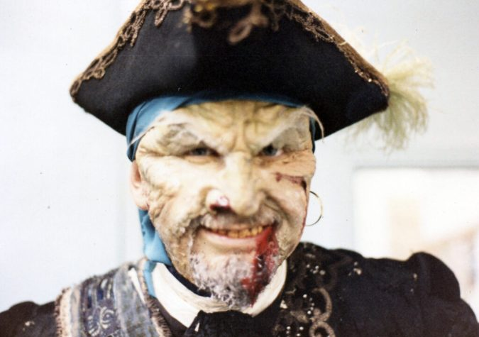 """""""Pirates Curse"""" Unreleased live action video game Me as the """"Captain"""""""