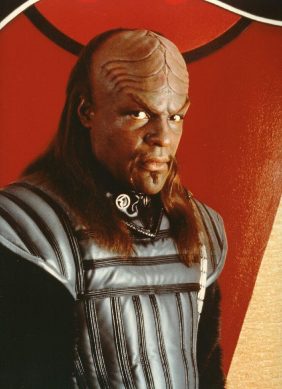 """Star Trek 6"" Michael Dorn as Klingon Defense Attorney Worf"