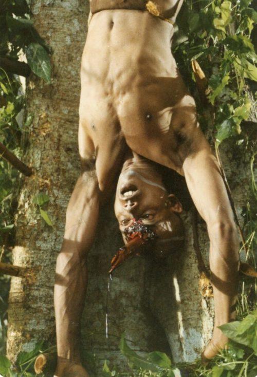 """""""Tenn. Buck"""" bamboo through head"""