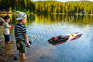 RC Toy Boats