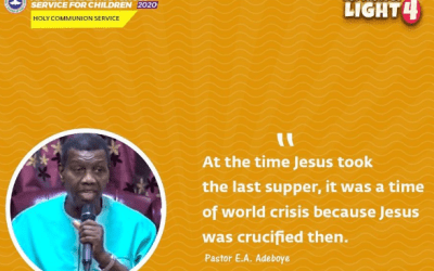 ApppppppptaPRIL 2020 HOLY GHOST SERVICE PRAYERS POINTS BY PASTOR E A ADEBOYE
