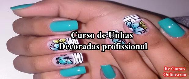 Curso De Decoração De Unhas (aprenda a decorar unhas).
